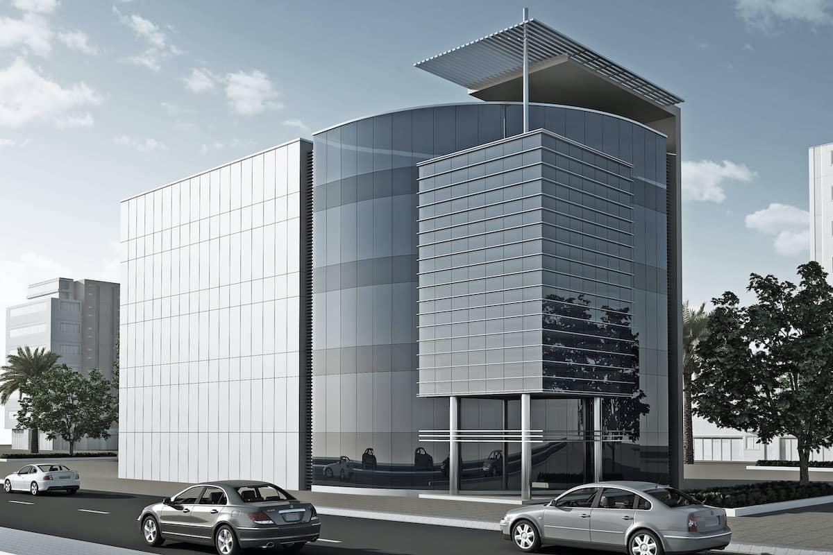 Bank Building - Dubai