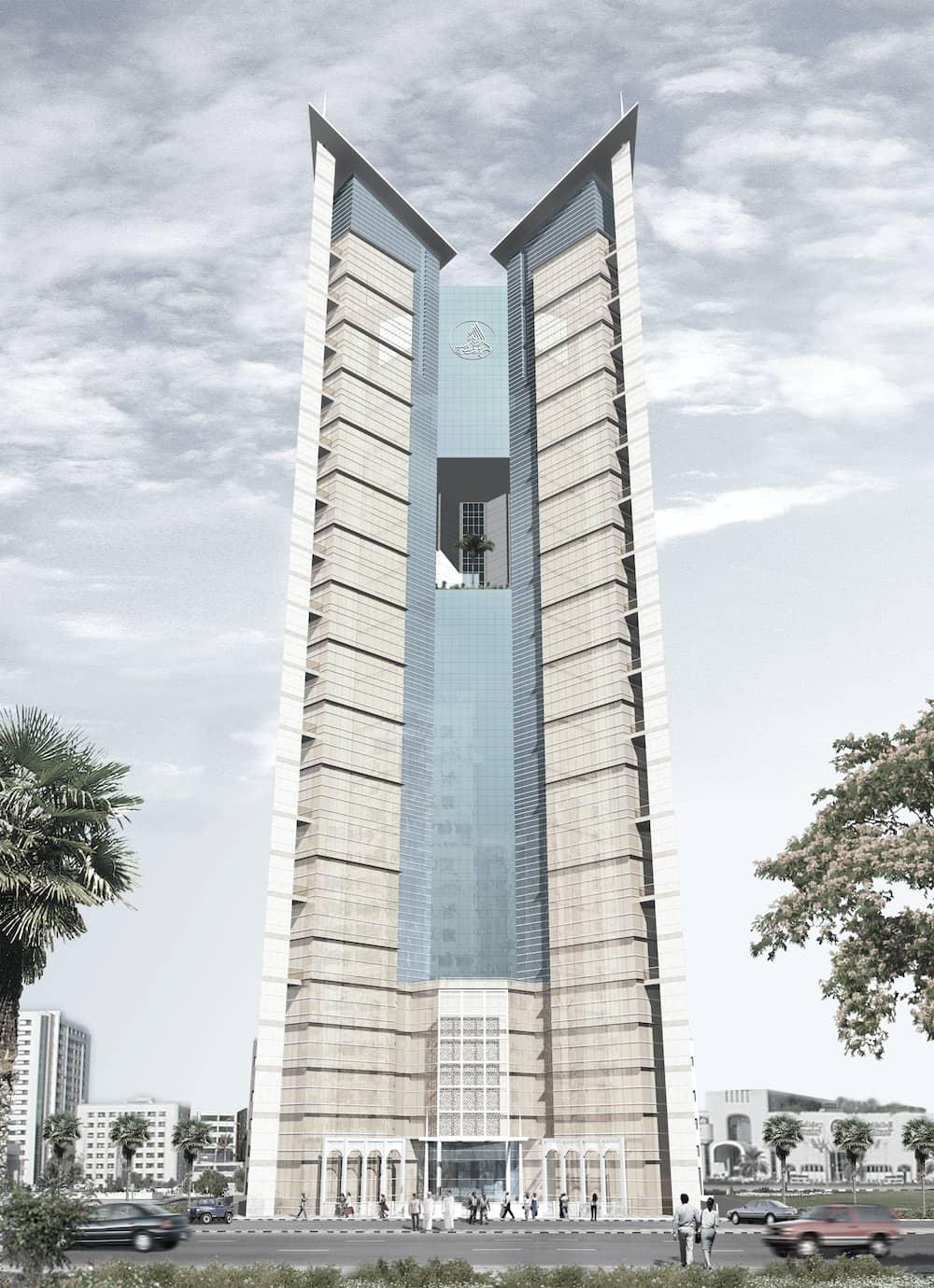 Competition Winning Design Bank Building - Sharjah