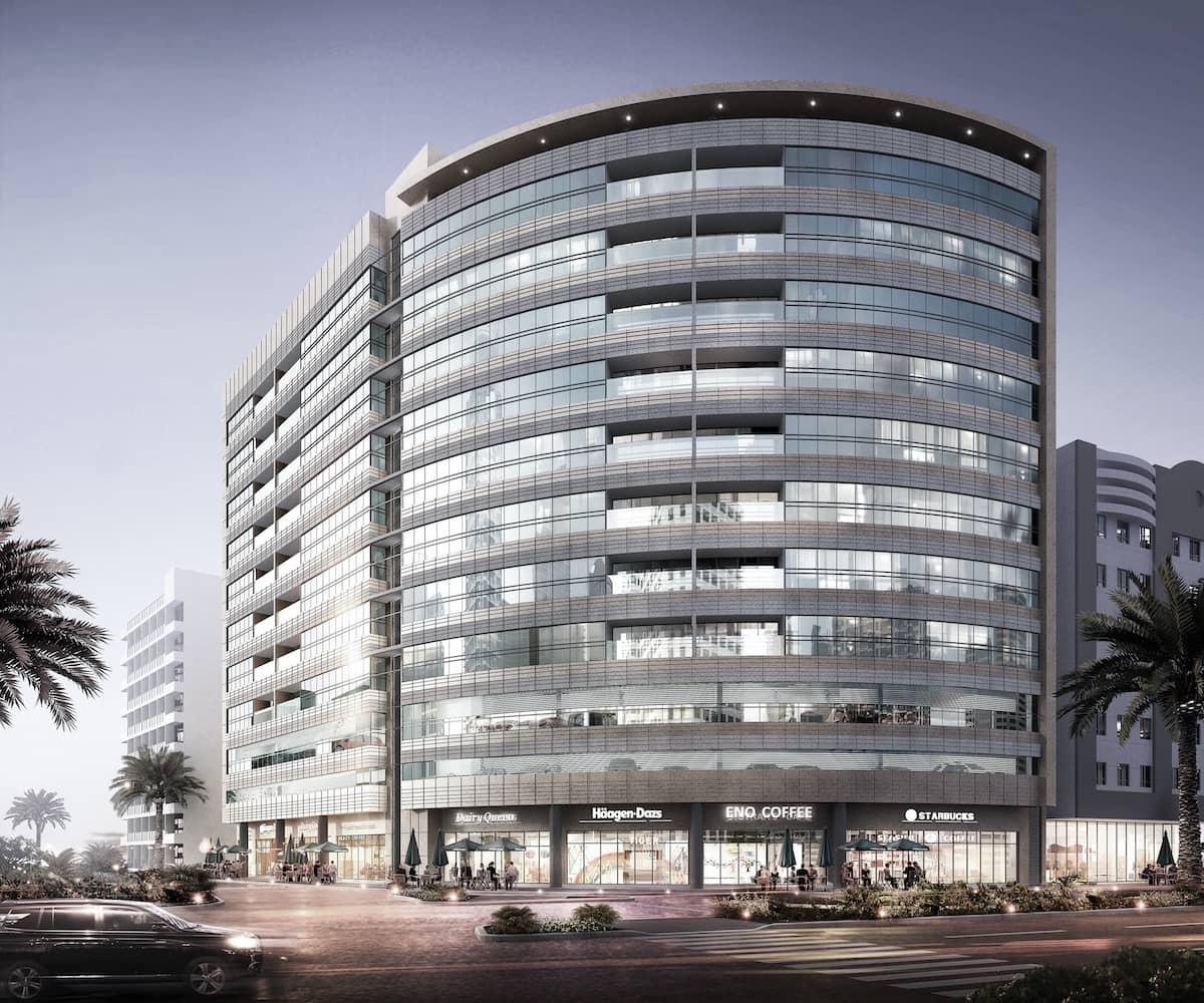 Commercial Building City Center - Sharjah