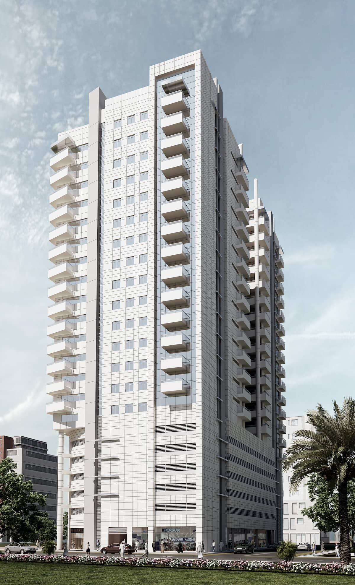 20 Storied Commercial Building - Sharjah