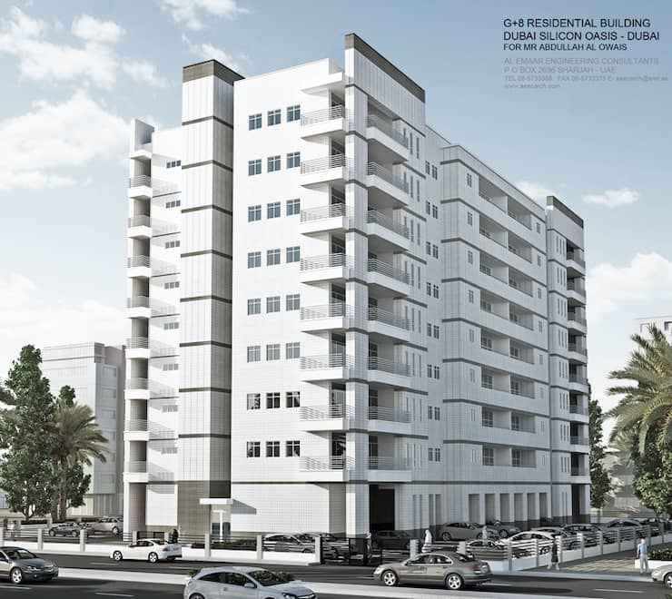 9 Storied Residential Building