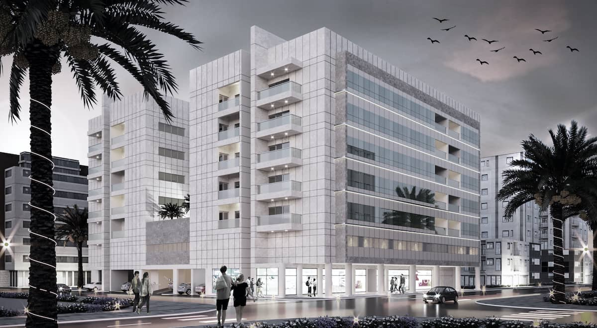 6 Storied Commercial Building - Sharjah